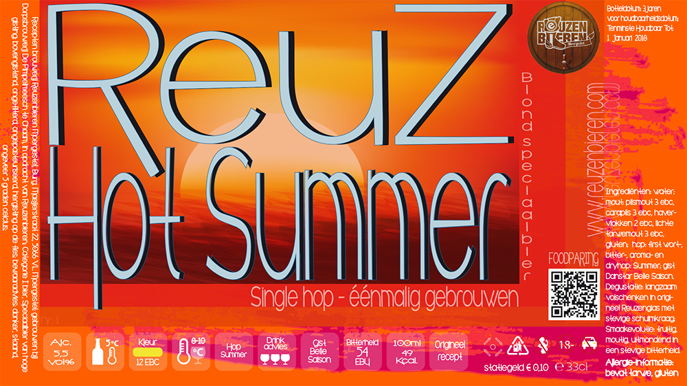 Etiket ReuZ Hot Summer versie1a